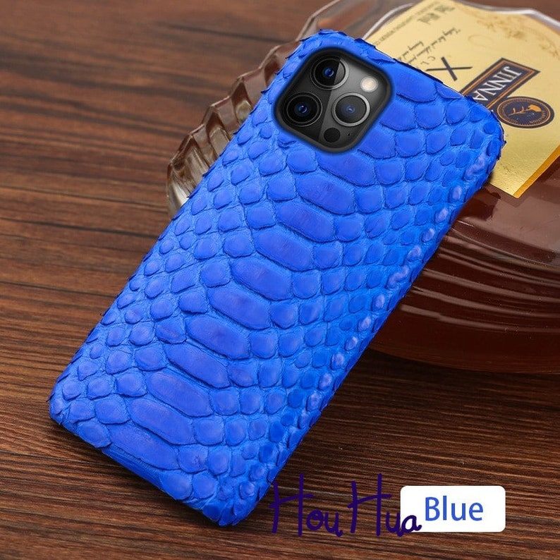 Snakeskin Cover Genuine Python Leather Phone Case For iPhone 12 Pro Max 12 Mini 11 Pro Max X XS Max XR 5s 6 6s 7 8 Plus SE 2020