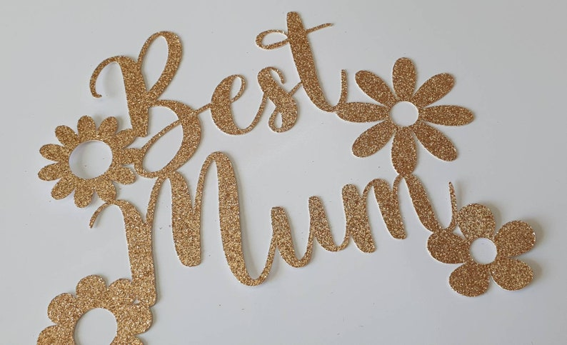 Best mum cake topper in many colours and finishes