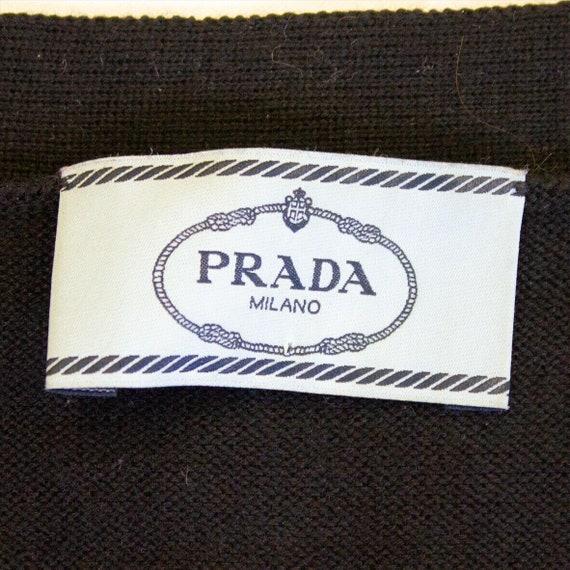 Prada Womens Wool Cardigan   Vintage Italian Luxu… - image 2
