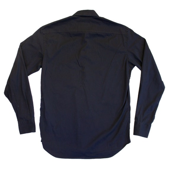 Prada Long Sleeve Button Up Shirt   Vintage Itali… - image 2