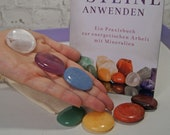 Chakras Crystal Set incl. Healing Stone Book with Guided Meditation in Mp3 format