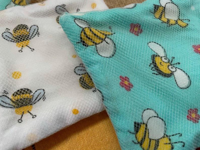 HoneyBee Collection Eco Cleaning Pads Handmade to order