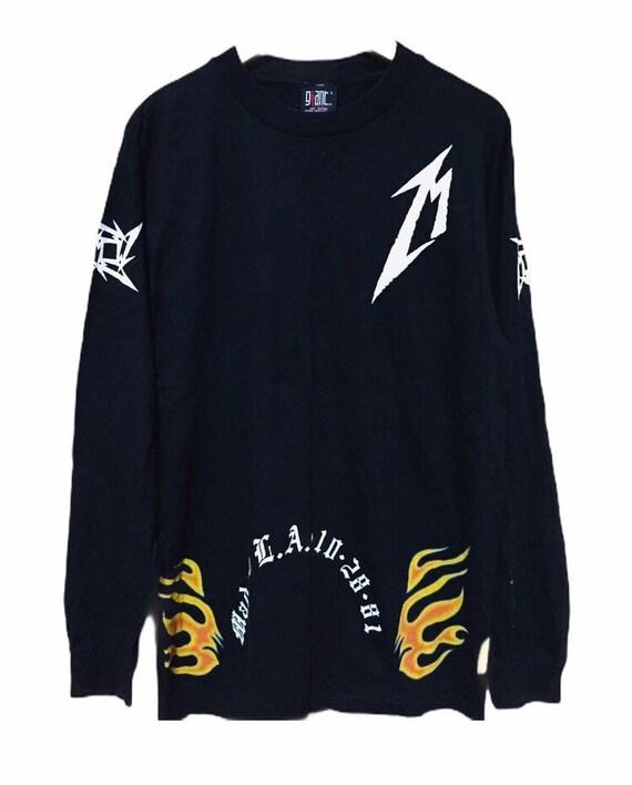 Vintage Metallica 15 year anniversary 1996 t shirt