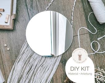 "Macramé DIY Kit Wall Hanging ""Irene"", incl. Video | free mini macramé kit, craft set, starter kit for a macramé gift boho decoration"