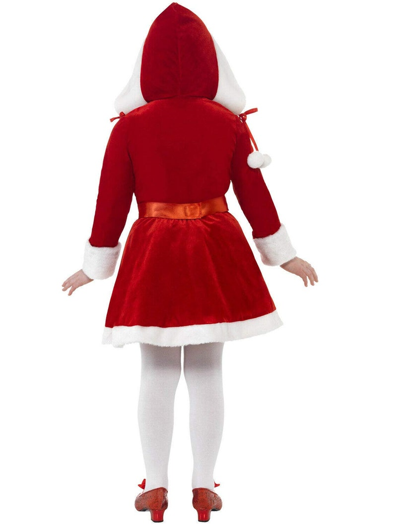 4-6 Years EthnicWearCollection Presents Miss Santa Claus Christmas Fancy Dress Outfit for Girls