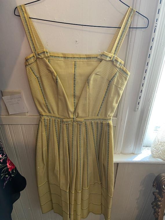 Vintage Maggie Montgomery Sun Dress