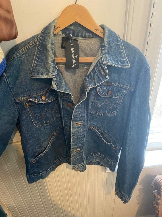 Vintage 70s Wrangler Jean Jacket