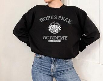 Danganronpa, Danganronpa Shirt, Hope's Peak Academy, Anime Hopes Peak Academy, Anime Danganronpa, Anime Danganronpa Sweatshirt, T-Shirt