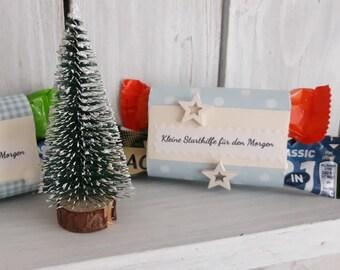 small jump start for the morning / gift gift idea gnome gift gift gift attention elves Nikolaus advent calendar