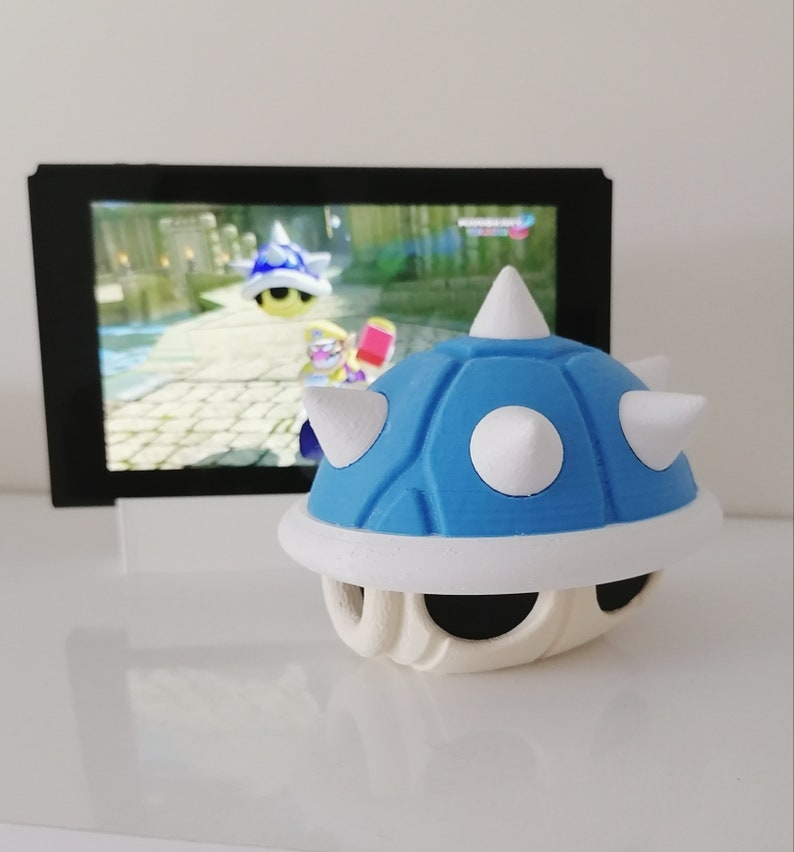 Mario Blue Shell Nintendo Switch Games Cartridge Holder for image 0