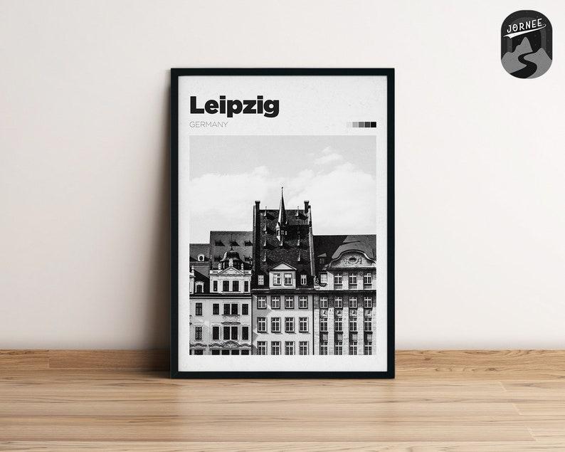 Travel Photography Art Germany Wall Art City Print Customisable Trip Memory Art Leipzig Poster Design Home D\u00e9cor