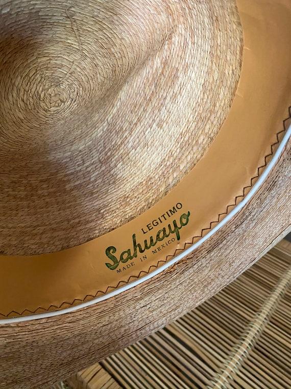 Vintage 1990's Handmade Legitimo Sahuayo Palm Str… - image 7