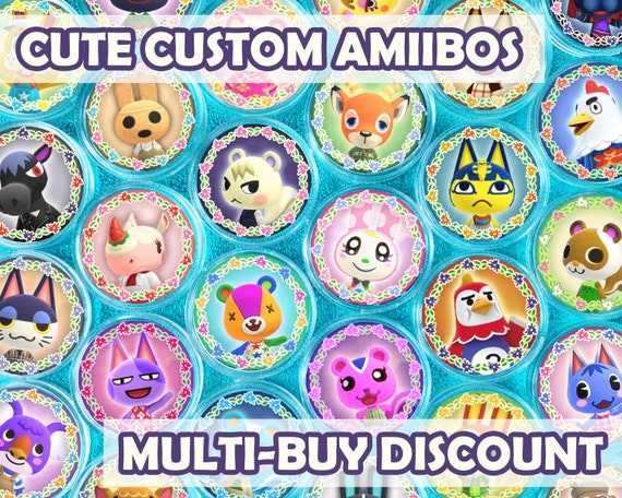 Animal Crossing Custom Amiibo Coins CHOOSE YOUR VILLAGERS for New Horizons