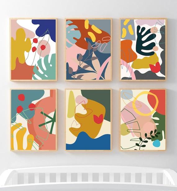 Shop Mid-century Art Print Modern Abstract Art Minimalist Poster from Etsy on Openhaus
