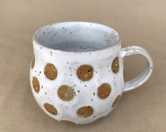 Cup, coffee cup, ceramic cup, cozy cup, hand-potted, 240 ml