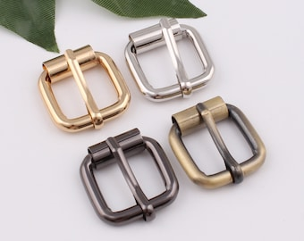 antique brass buckle 10 PCS 16 mm  20 mm  25 mm  32 mm  38 mmmetal can be DiaoXiao clasp belt buckle three section clasp
