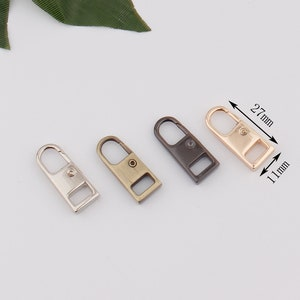 metal zipper head 5# zipper slider head for metal zipper teeth replacement bag hardware DIY handwork bag wallet clothing luggage accessories