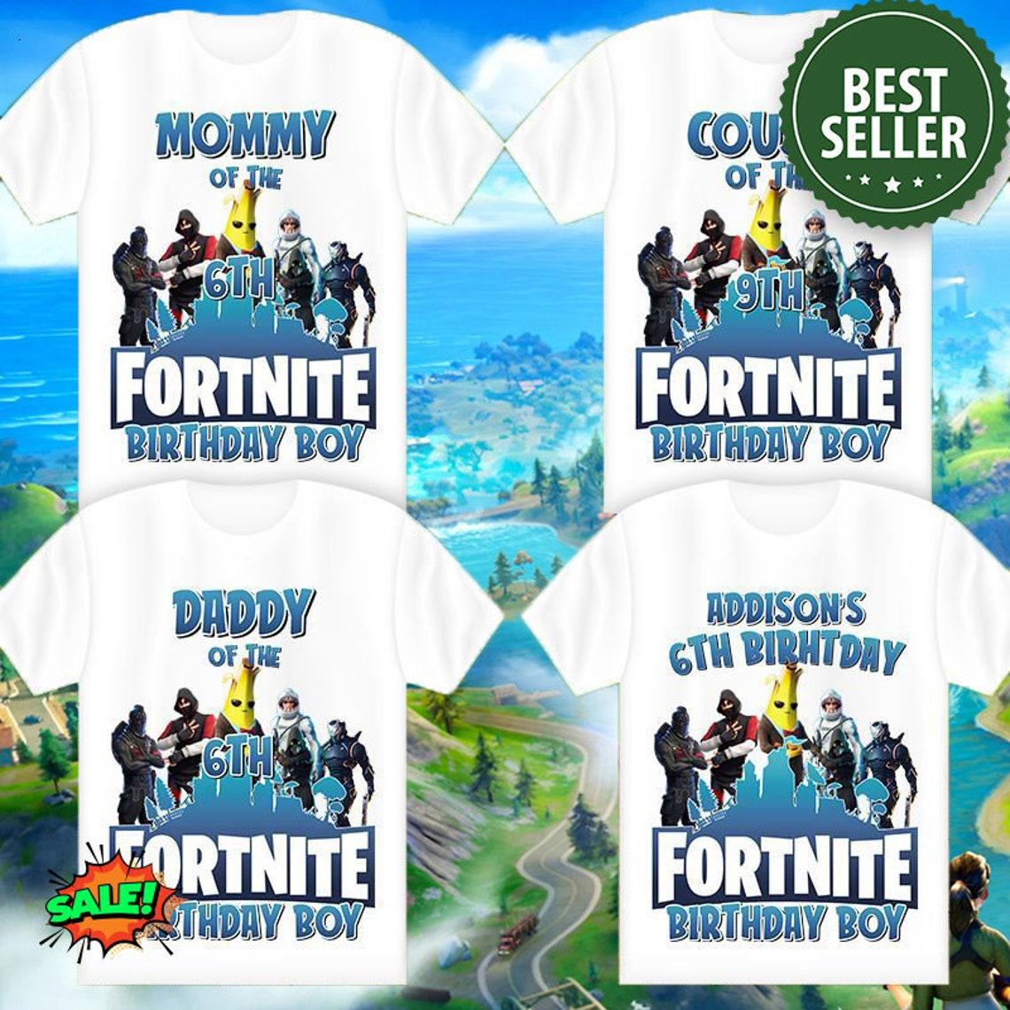 Gamer Birthday Boy Shirt Family Birthday Shirt Gaming Boy image 0