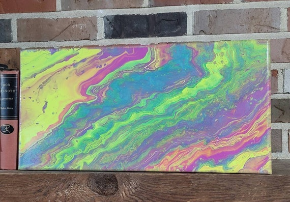 Vibrant Youth - Abstract Dutch Pour Painting