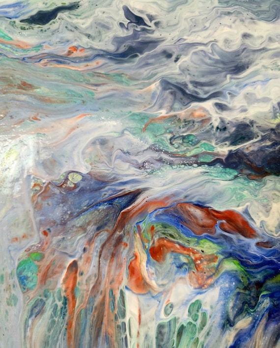 Waterfall- Diptych Art Prints