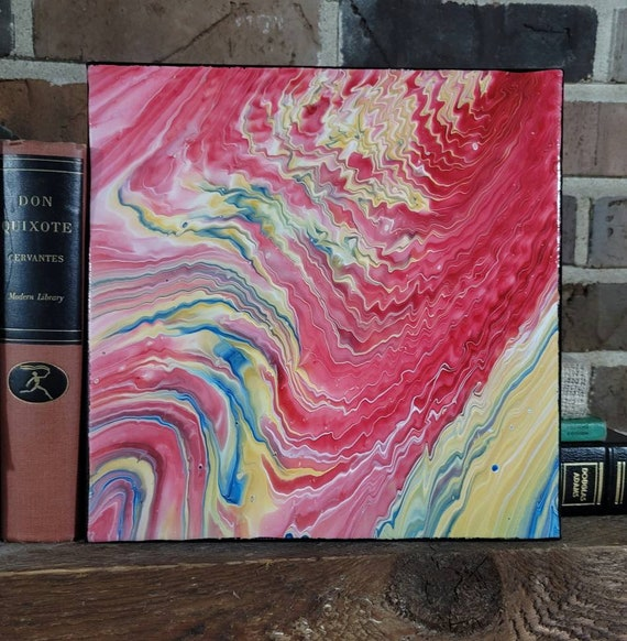 Tales of the KC Chiefs- Abstract Fluid Art