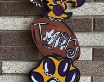 Geaux Tigers lsu tri piece