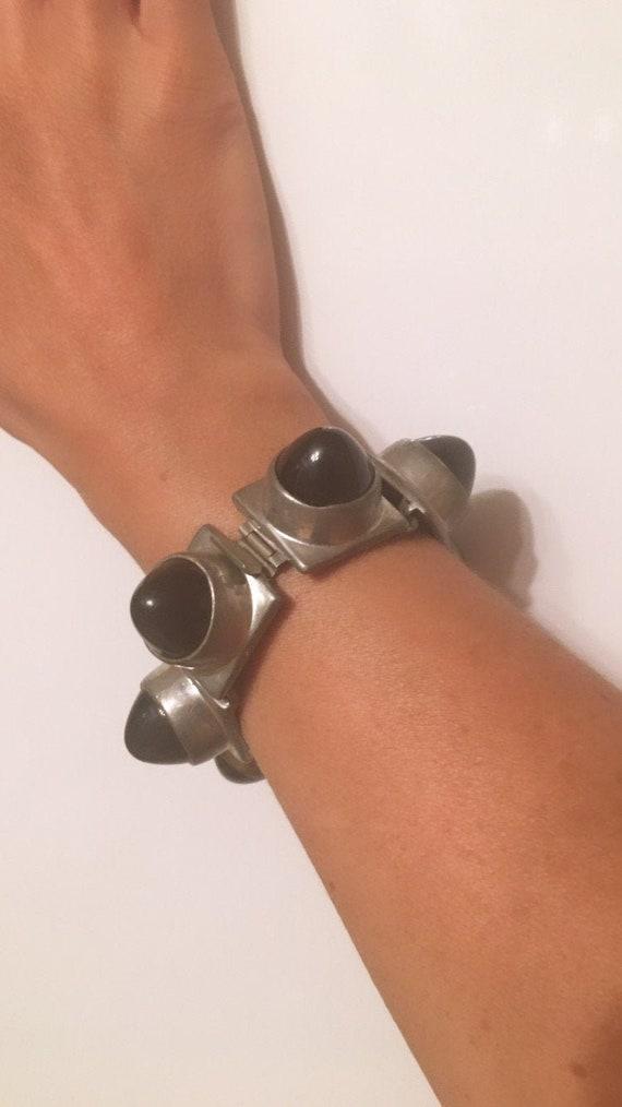Vintage 70's Dome Bracelet