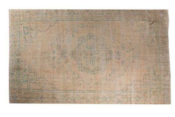 6'03''x8'7''Natural Pastel  Color VintageTurkish Wool Rug,Anatolian Ottoman Handmade Area Rug,Home Decor,Decorative Rug,NomadicRug,2910