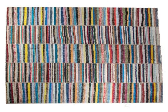 8'3''x11'5''Colorful  Vintage Turkish village Rug,Anatolian Handmade Area Rug,Home Decor,Decorative Rug,Urban Rug,Nomadic Rug,Natural Rug