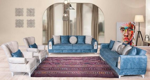 7'2''x11'6''Rainbow Color Turkish Wool Rug,Anatolian Ottoman Handmade Area Rug,Decorative Rug,Nomadic Rug,Modern Art Rug,