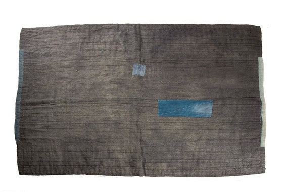 5'08''x6'3''Gray Color Vintage Hand Woven Quilt,Anatolian Handmade Quilt,Home Decor,Decorative Quilt Area Quilt,Custom Kurdish Quilt,17