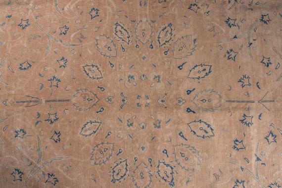 9'6'' x 13'1'' Natural Color Vintage Turkish Wool Rug,Anatolian Handmade Area Rug,Decorative Rug, Beige Rug,Nomadic Rug,Modern Art,2483
