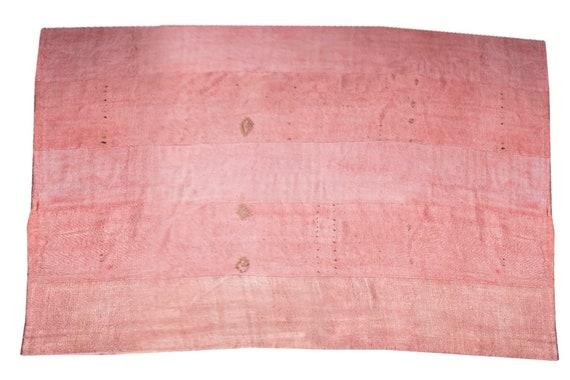 """10'3"""" X 12'9''Vintage,Faded  Pink Color Turkish Area Hemp Rug, Bedroom Rug, Neutral Rug,Living Room Rug,Boho Rug,Antique Rug,Faded Rug,3374"""