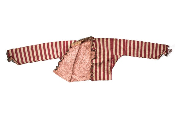 An Old Worn Out Size Anatolian Efe Outfit for Decoration,Red-Beige Color Vintage Turkish Old Efe Dress,Decorative Efe Dress