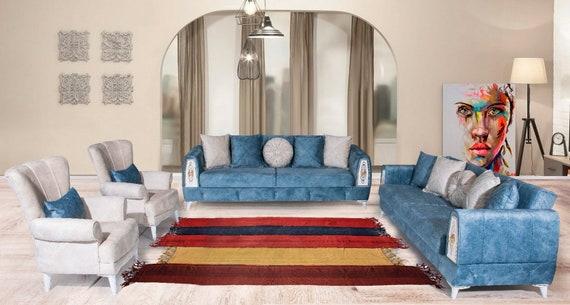 6'2''x10'1'' Colorful Authentic Curtain, Turkish Wool Rug,Anatolian Ottoman Handmade Area Rug,Decorative Rug,Nomadic Rug,Modern Art Rug,