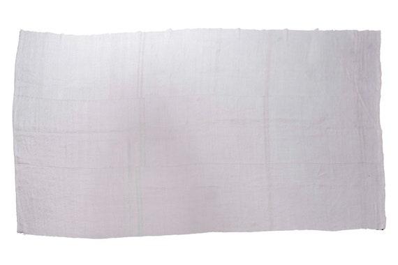 5'9''x12'7''Vintage,Natural Beige Color Turkish Area Hemp Rug, Bedroom Rug, Neutral Rug,Living Room Rug,Boho Rug,Antique Rug,Faded Rug,2541