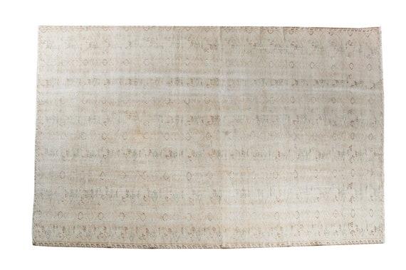 5'3''x8'5''Patel Natural Color VintageTurkish Wool Rug,Anatolian Ottoman Handmade Area Rug,Home Decor,Decorative Rug,NomadicRug,2898