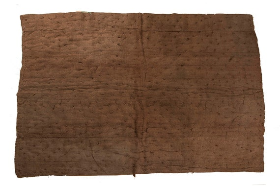 4'5''x5'9''Brown Color Vintage Hand Woven Quilt,Anatolian Handmade Quilt,Home Decor,Decorative Quilt Area Quilt,Custom Kurdish Quilt,22
