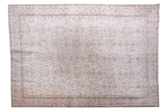 6'8''x10'0''Vintage Rug,Beige Color Turkish Area Rug,Bedroom Rug,Neutral Rug,Living Room Rug,Boho Rug,Decorative Rug,Faded Rug,3223