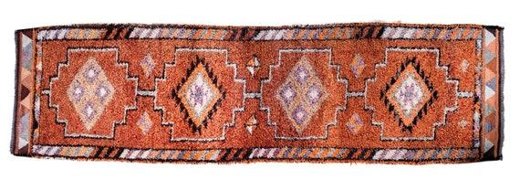 Turkish Rug 2.8x12.3ft,Patchwork Rug,VintageRug,AnatoliaRug,HandWoven Rug,Nomadic Rug,Tribal Rug Area,Rug Oriental Rug Boho Carpet Rug Kilim