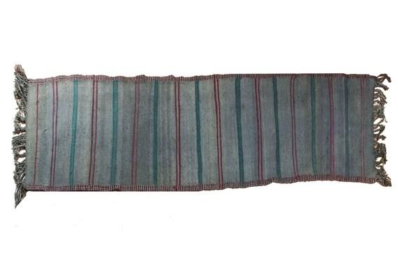 "Runner Rug 2'4"" X 12'8''ft,Vintage Runner Rug,Anatolia Rug,HandWoven Rug,Nomadic Rug,Tribal Rug Area,Rug Oriental Rug  Kilim,2987"