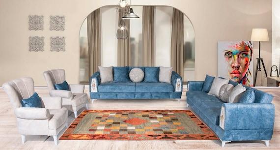 5'08''x7'1''Colorful Geometric Design,Turkish Wool Rug,Anatolian Ottoman Handmade Area Rug,Decorative Rug,Nomadic Rug,Modern Art Rug,