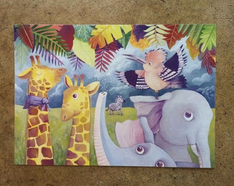 Africa in garden A3 and a4