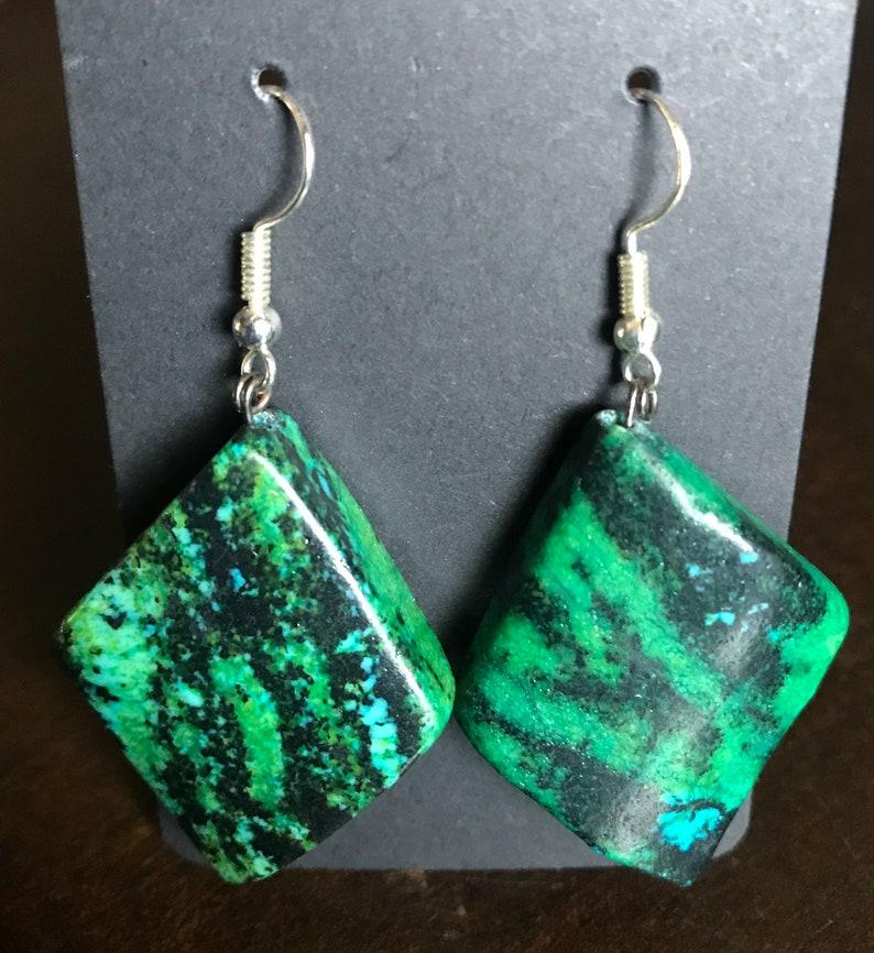 Maw-Sit-Sit Stone Earrings