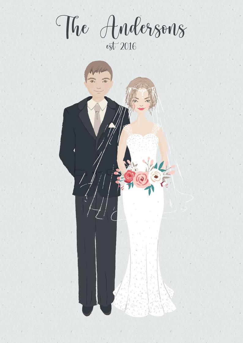 Wedding  Newlywed  Anniversary Portrait
