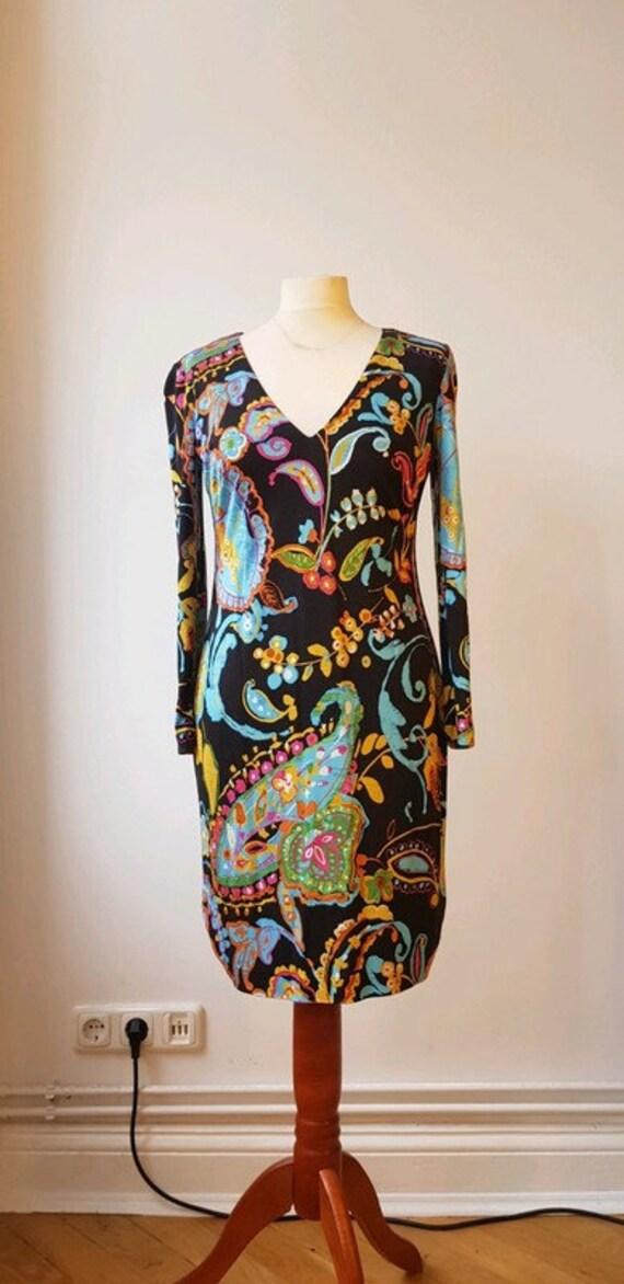 Ralph Lauren Multi-Coloured Bold Print Dress