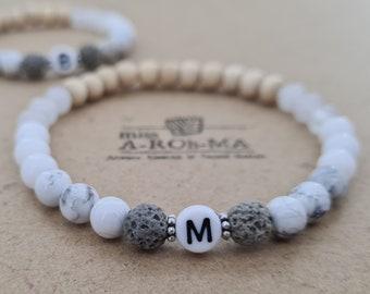 Set Beaded Bracelet Gift for Husband Mantra Bracelet Gifts for Men Boyfriend Gift Minimalist Bracelet Birthday Gift Mens Jewelry