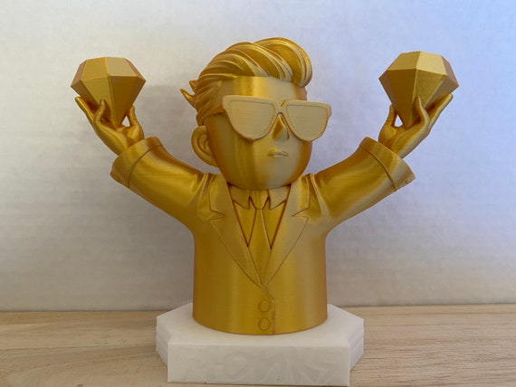 WallStreetBets Figure with Diamond Hands | 3D printed