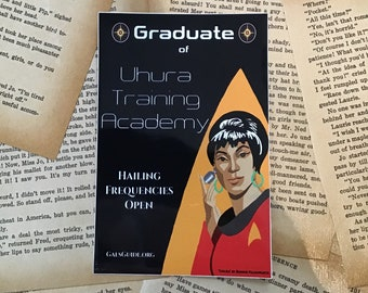 Uhura Training Academy Sticker
