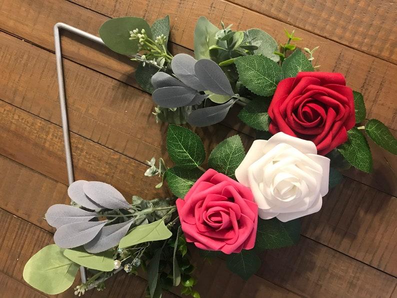 Bridesmaids hoop bouquet